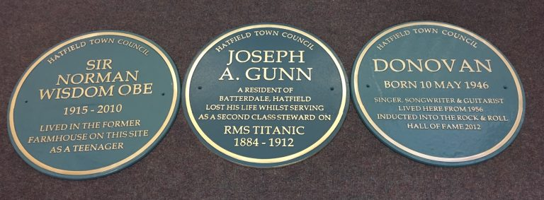 blue plaque scheme