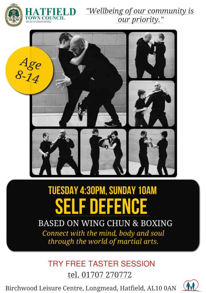 self defence poster